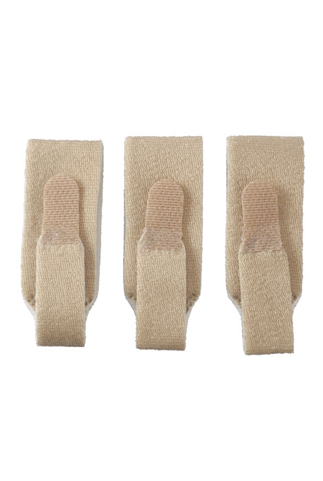 Foam-Lined Finger Loops, Set of 3 - View 3
