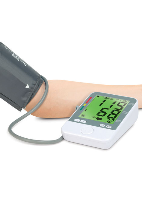Color Changing Blood Pressure Monitor - View 2