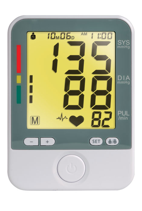 Color Changing Blood Pressure Monitor - View 4