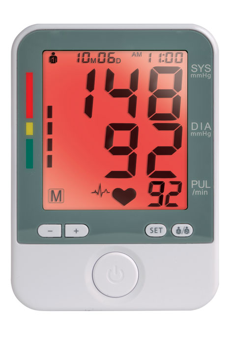 Color Changing Blood Pressure Monitor - View 5