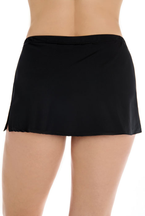 Longitude® Solid Swim Skirt - View 2