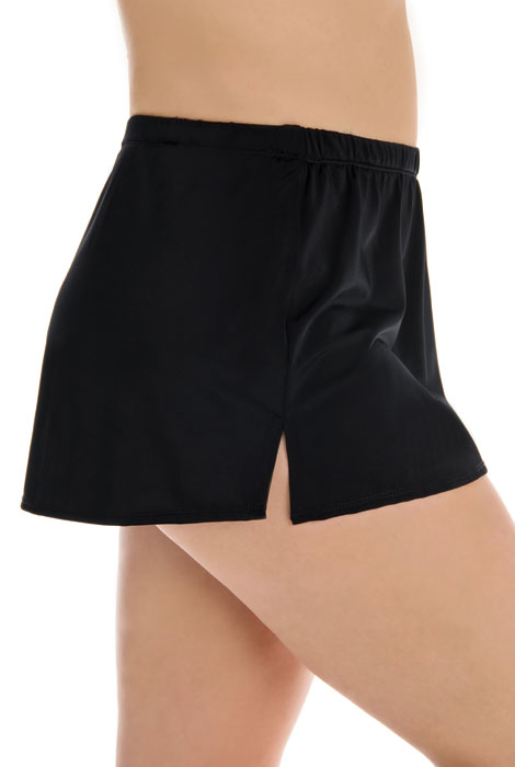 Longitude® Solid Swim Skirt - View 3