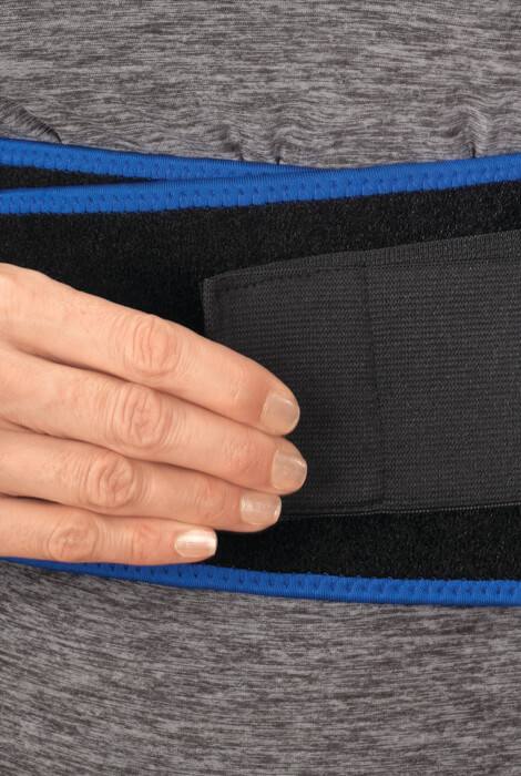 Compression Back Support with Padding - View 4
