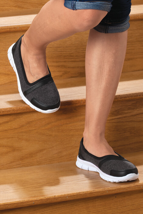 Healthy Steps™ Feather Lite Slip-On Shoes - View 3