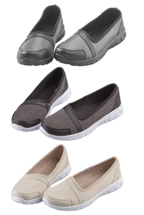 Healthy Steps™ Feather Lite Slip-On Shoes - View 4