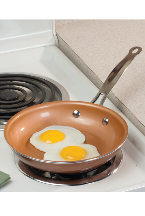 "8"" Ceramic Non Stick Pan - View 2"
