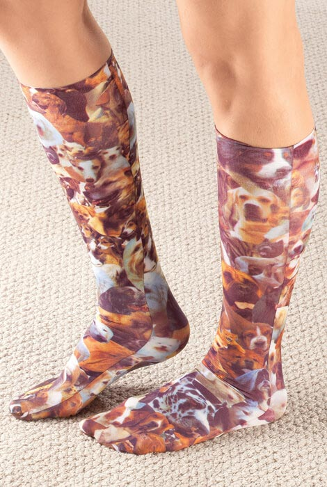 Celeste Stein Pet Lovers Compression Socks, 8–15 mmHg - View 3