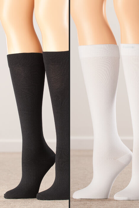 Healthy Steps™ Compression Socks 15-20 mmHg, 3 pair - View 4