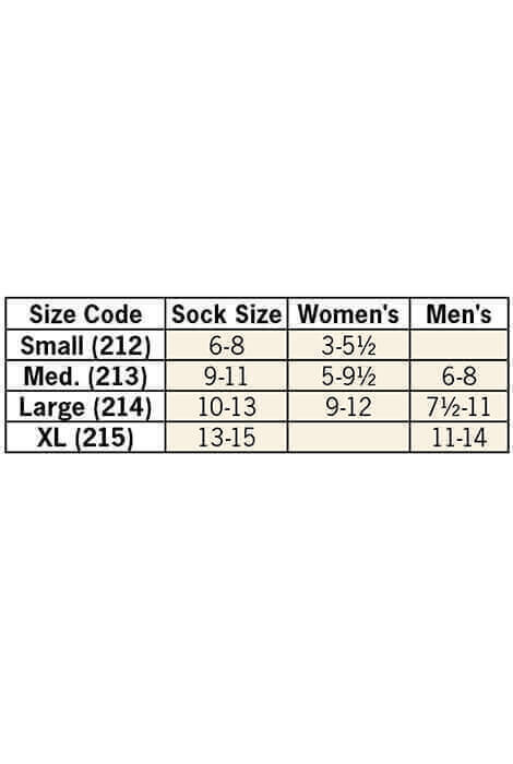 Healthy Steps™ Compression Socks 15-20 mmHg, 3 pair - View 5