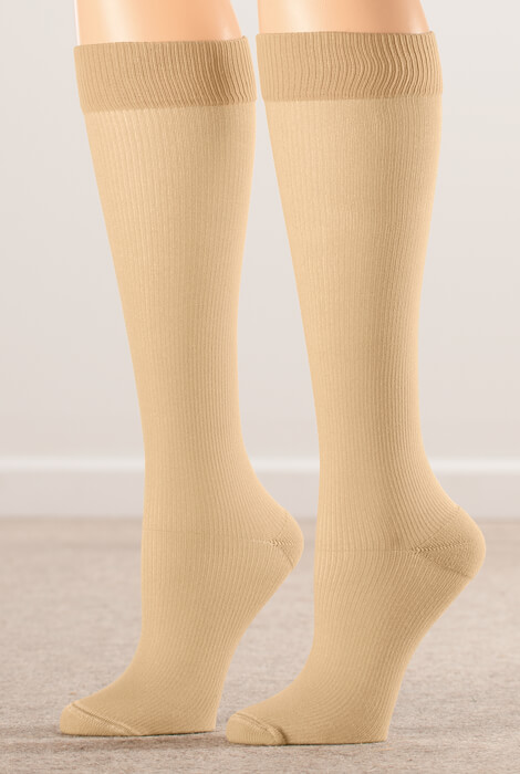 Healthy Steps™ Compression Socks 20-30 mmHg, 3 Pair - View 2
