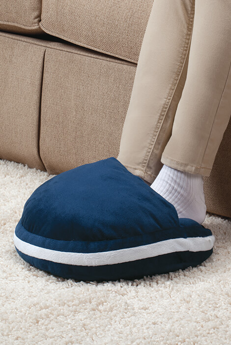 Plush Warming Pillow with Hot Water Bottle - View 2