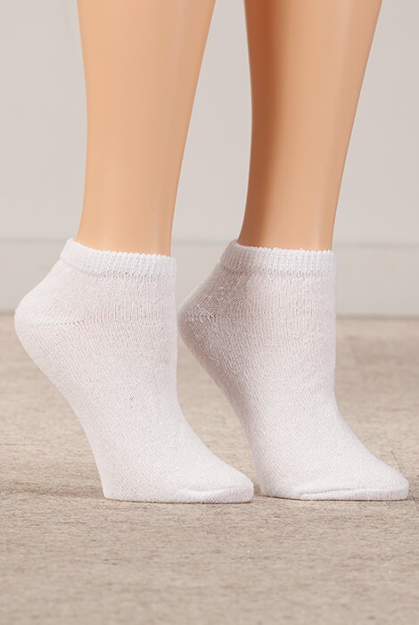 Healthy Steps™ 3 Pack Low-Cut Diabetic Socks - View 3