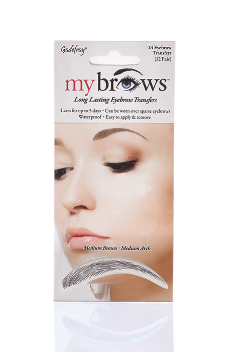 MyBrows™ Long Lasting Eyebrow Transfers Medium Arch - View 2