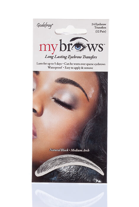 MyBrows™ Long Lasting Eyebrow Transfers Medium Arch - View 3
