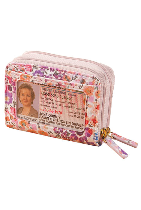 Buxton RFID Floral Accordion Wallet - View 2