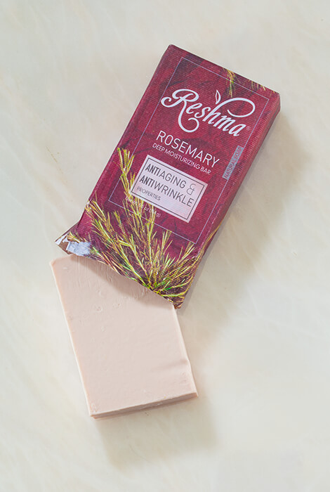 Reshma® Beauty Rosemary Anti-Aging & Anti-Wrinkle Soap - View 2