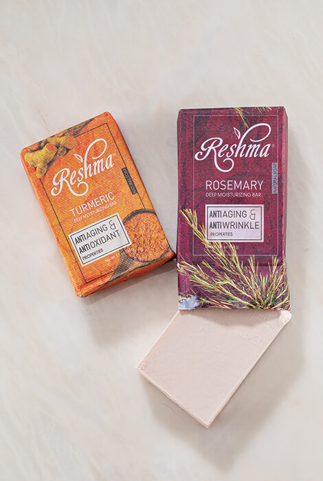 Reshma® Beauty Rosemary Anti-Aging & Anti-Wrinkle Soap - View 3