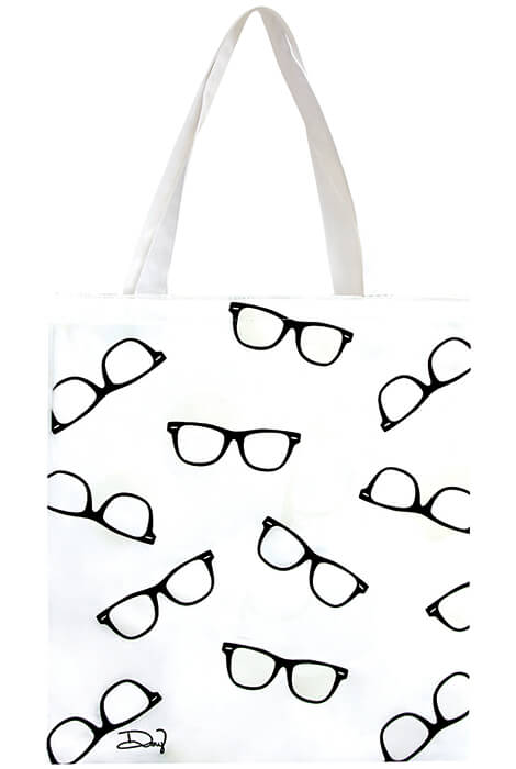 UV Color Changing Tote - Sunglasses - View 2