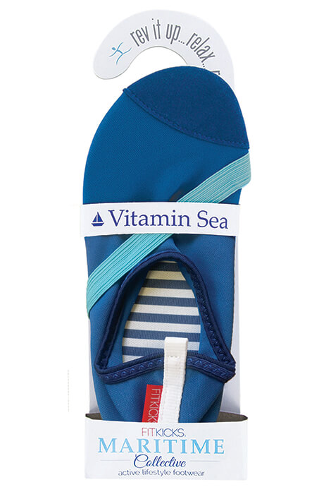 Maritime FitKicks® Blue - View 2
