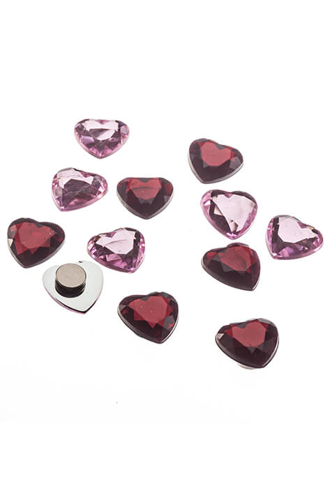 Heart Magnets - Set of 12 - View 3