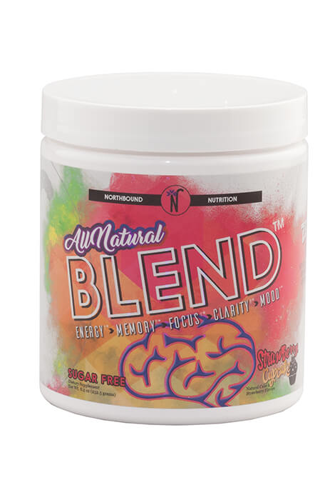 All Natural Blend Cognitive Energy – Strawberry Cupcake - View 2