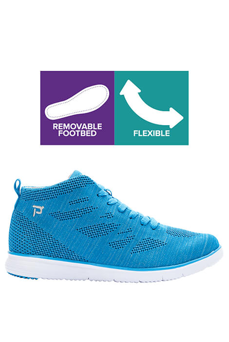 Propet® TravelFit Hi Women's Knit Sneaker - View 4