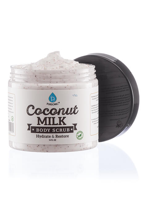 Pursonic® Coconut Milk Hydrate & Restore Body Scrub - View 2