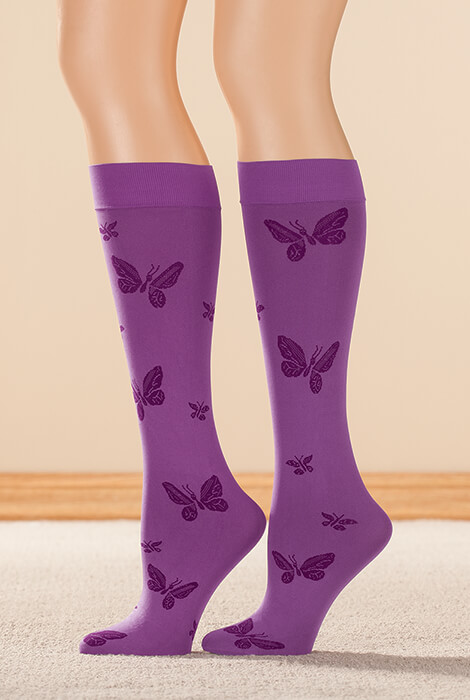 Butterfly Support Knee Highs - View 2