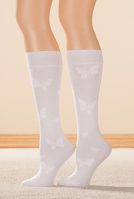 Butterfly Support Knee Highs - View 3
