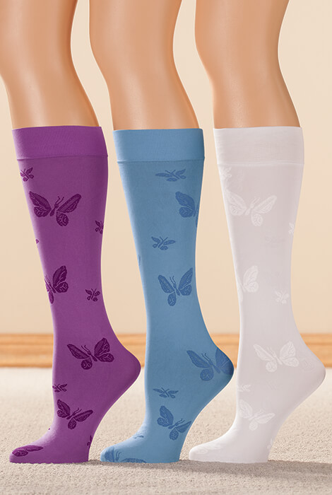 Butterfly Support Knee Highs - View 4