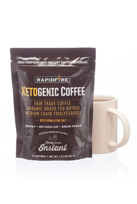 Rapid Fire Ketogenic Coffee - View 2