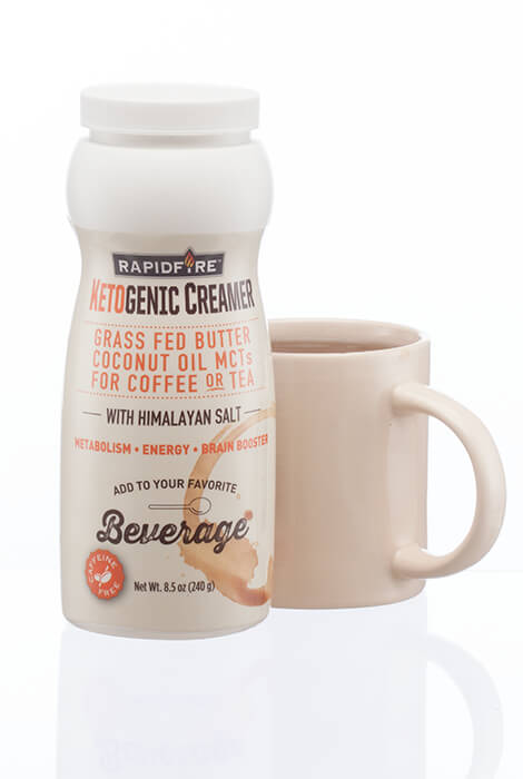 Rapid Fire Ketogenic Creamer - View 2