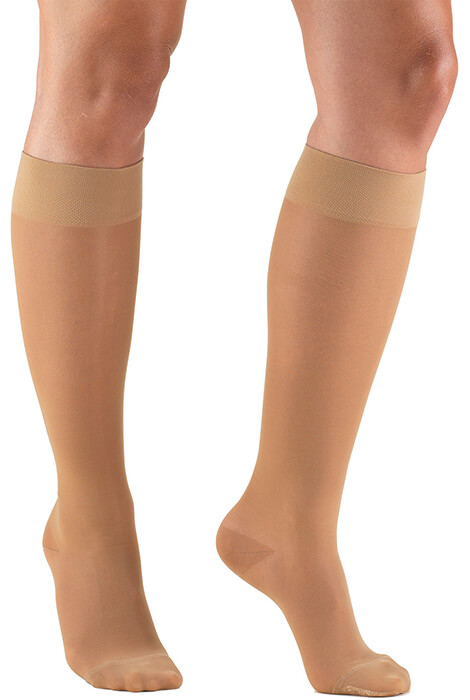 Silver Steps™ Sheer Compression Knee Highs, 15–20 mmHg - View 2
