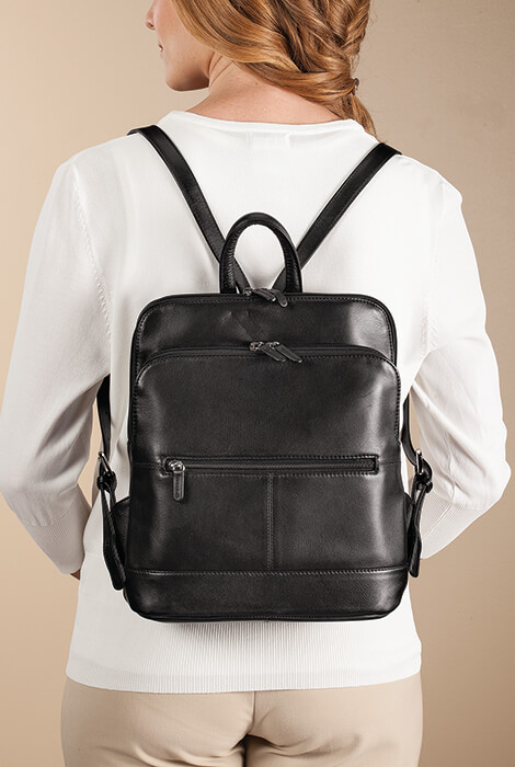 Leather Backpack - View 2