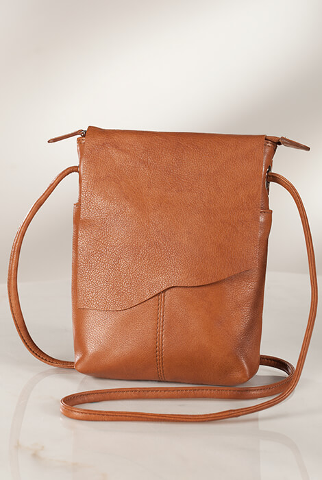 Leather Crossbody Bag - View 2