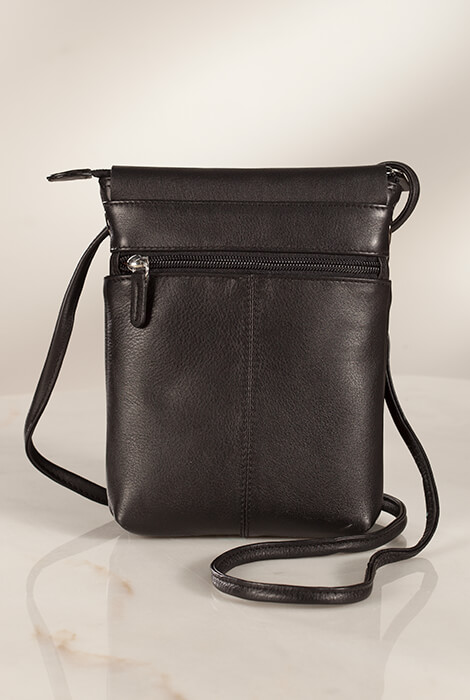 Leather Crossbody Bag - View 3