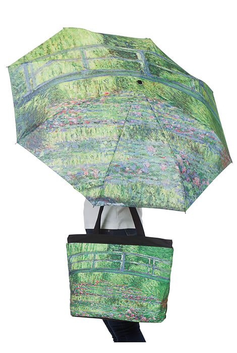 Monet Umbrella & Tote Bag Set - View 2