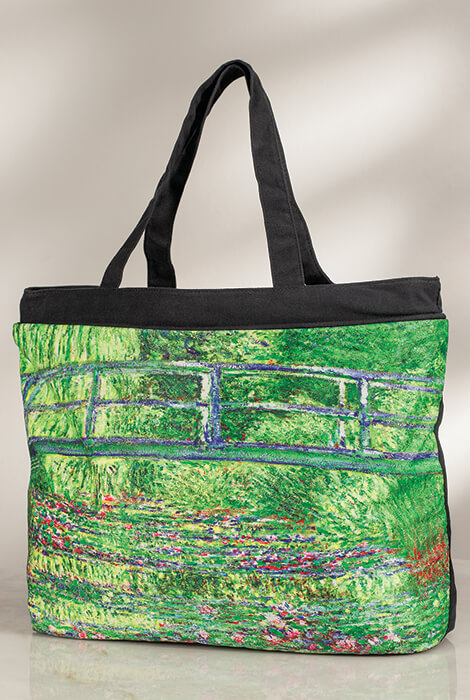 Monet Umbrella & Tote Bag Set - View 4
