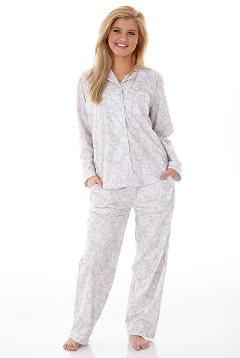 Enchantment Micro Flannel Pajama Set - View 2