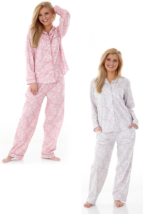 Enchantment Micro Flannel Pajama Set - View 3