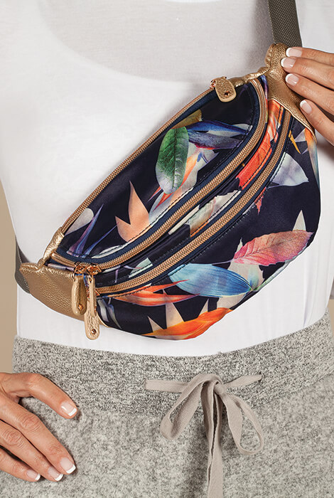 Buxton® Tropical Luxe Waist Bag - View 2