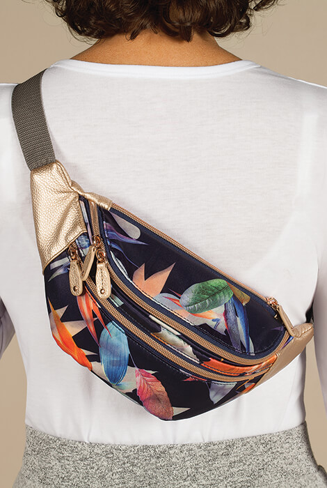 Buxton® Tropical Luxe Waist Bag - View 3