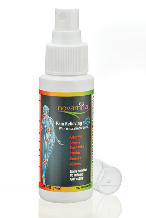 Novarnica Pain Relieving Spray - View 2