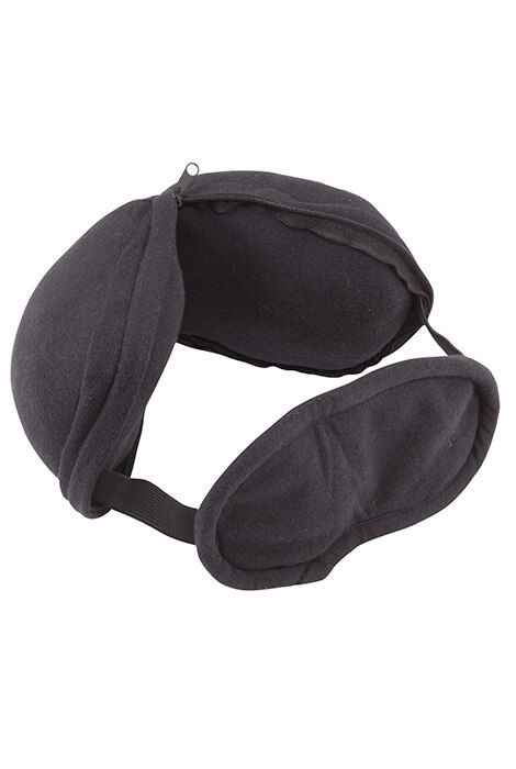 2-in-1 Travel Pillow and Eye Mask - View 2