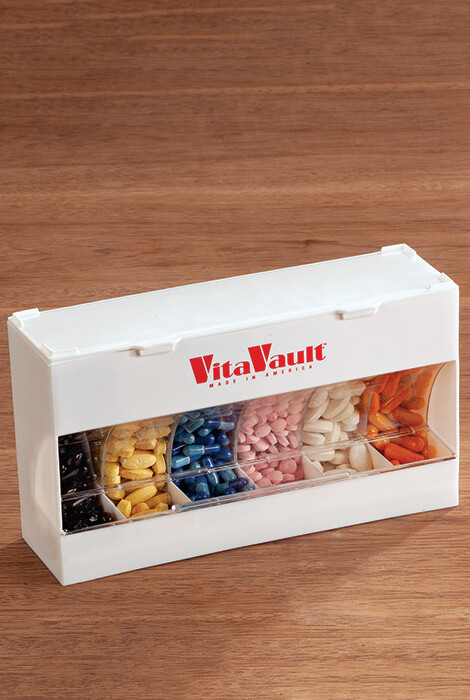 VitaVault™ Daily Pill and Vitamin Dispenser - View 3
