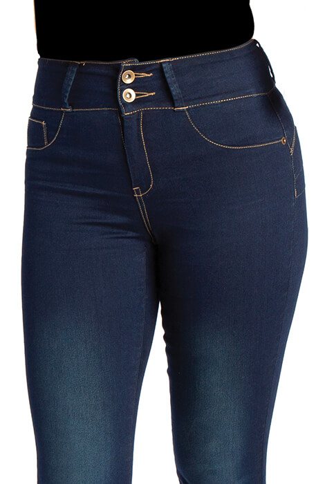 As Seen On TV My Fit Denim Jeans Dark Wash - View 2