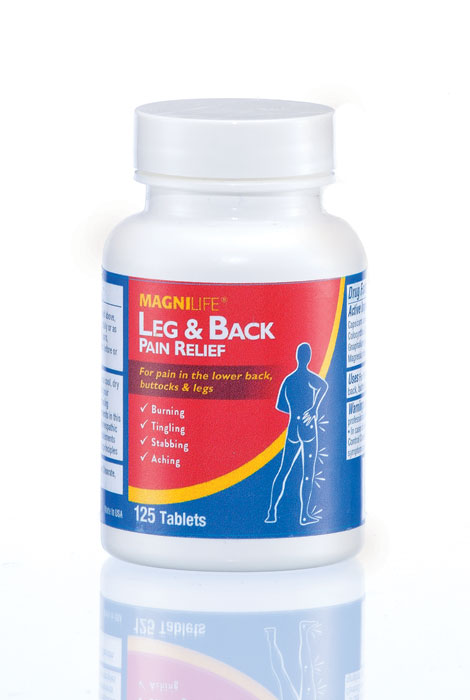 MagniLife® Leg & Back Pain Relief Tablets - View 1