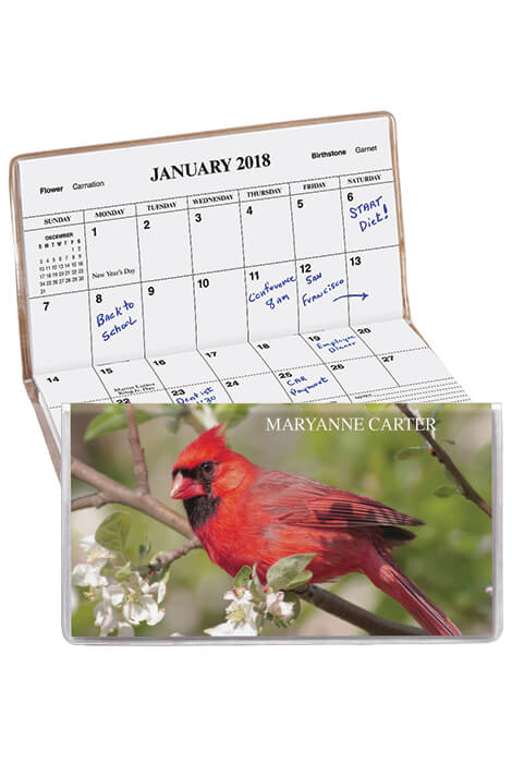Cardinal Personalized Pocket Planner