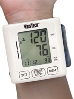 Fitness & Exercise - Wrist Blood Pressure Monitor