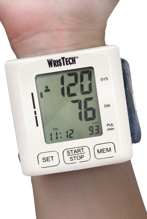 Wrist Blood Pressure Monitor - View 1